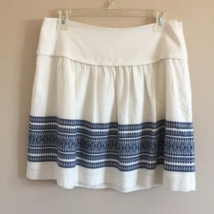 Madewell | Skyline Cabana Jacquard Cotton Skirt